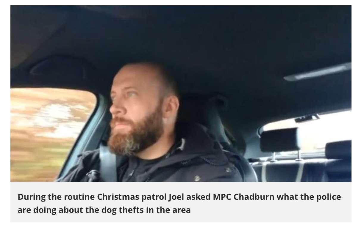 Watch as Devon police pledge crackdown on rural dog thefts