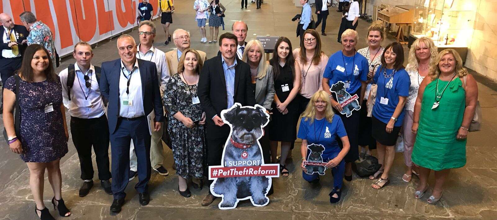 Pet Theft Debate was a huge success #PetTheftReform is on it's way !