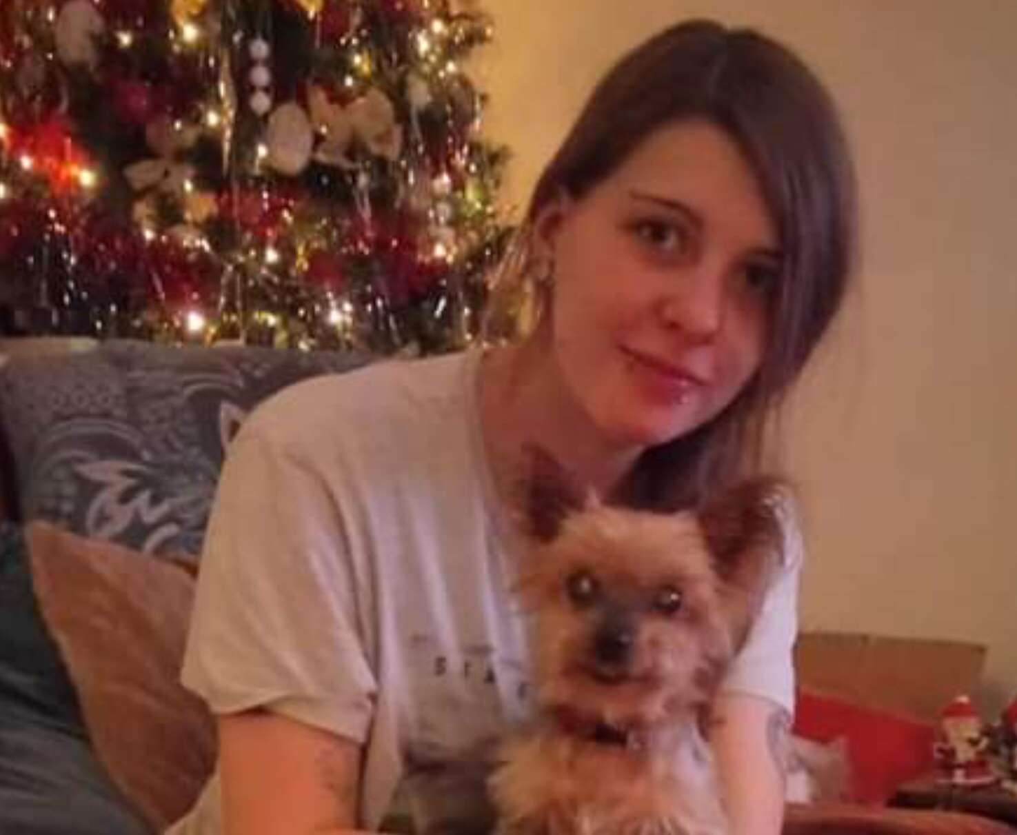 Owner left devastated after tiny dog Izzy is stolen #PetTheftReform CCTV IMAGE.  Reunited.