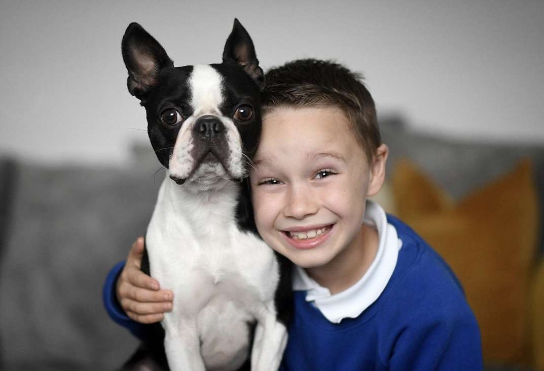 He's home! Little lad who drew 'wanted' posters after his dog Ralph was stolen is reunited with his best mate – Manchester Evening News