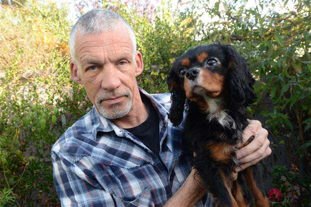 Whitstable: Dog owner Mark Hills attacked by thief who tried to steal Cavalier King Charles spaniel puppy. #PetTheftReform