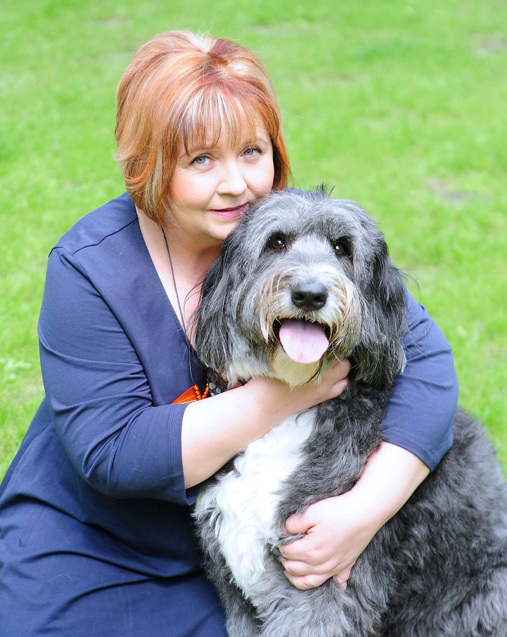 Beverley Cuddy, Dogs Today Magazine editor and SAMPA Patron heading up the Direct Line Dog Theft media day.