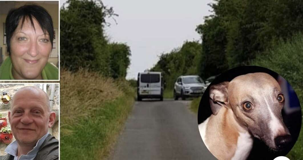 Husband and wife save dog from 'thieves' in country lane showdown before being called 'four eyes' #PetTheftReform