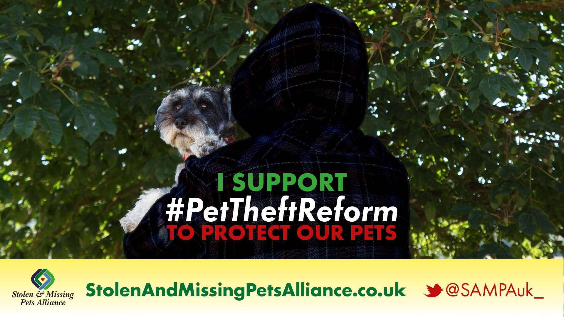 What is #PetTheftReform ?